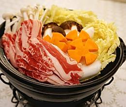 宅在家做个暖暖的寿喜锅的做法