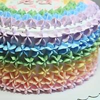 全新0失败 彩虹蛋糕 8寸6寸通用的做法图解11