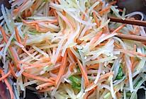 土豆丝凉菜的做法