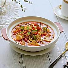 #秋天怎么吃# 泡菜豆腐汤
