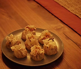 香菇腊肉烧麦的做法