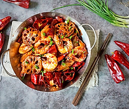 超好吃的麻辣虾的做法