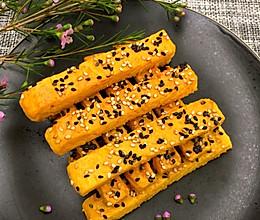 香酥芝麻红薯条的做法