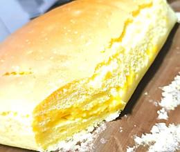 咸蛋黄古早蛋糕的做法