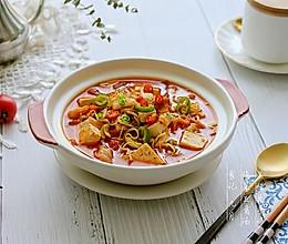 #秋天怎么吃# 泡菜豆腐汤的做法