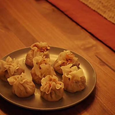香菇腊肉烧麦