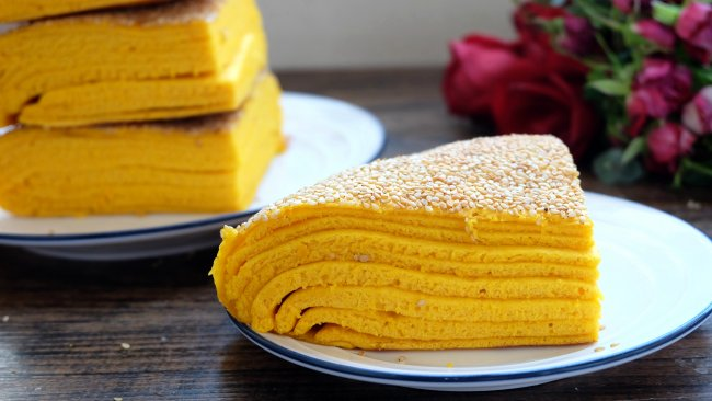 南瓜千层饼的做法