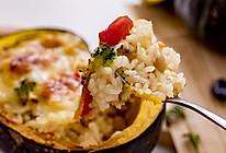 贝贝南瓜芝士焗饭 | 鲜美清甜的做法