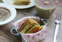 香煎牛油果三文治的做法