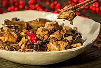 小鸡炖蘑菇,热气腾腾过新年的做法