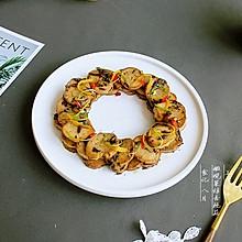 【橄榄菜拌杏鲍菇】——解锁杏鲍菇新吃法