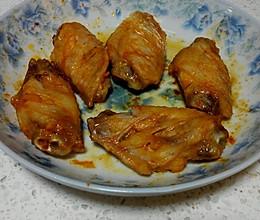 微波炉版烤鸡翅的做法