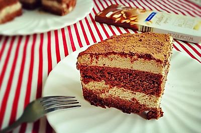 巧克力坚果慕斯蛋糕
