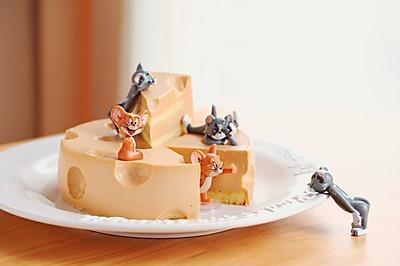 鼠年必做款--芒果奶酪慕斯蛋糕