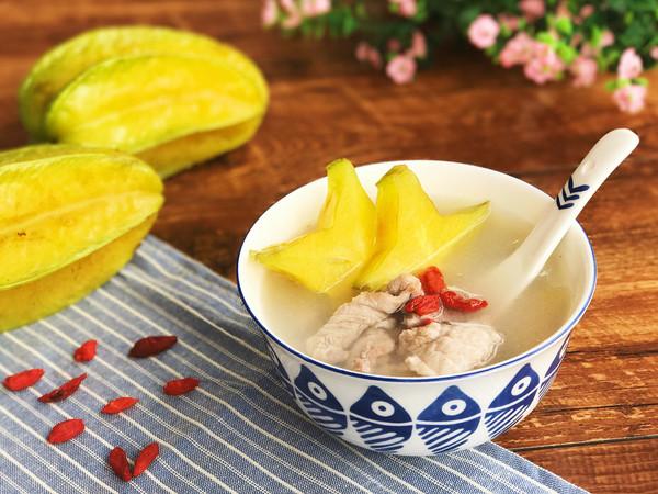 清热生津 开胃杨桃汤的做法