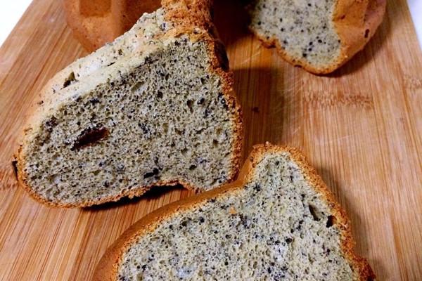 粗粮蛋糕-黑芝麻荞麦戚风蛋糕的做法