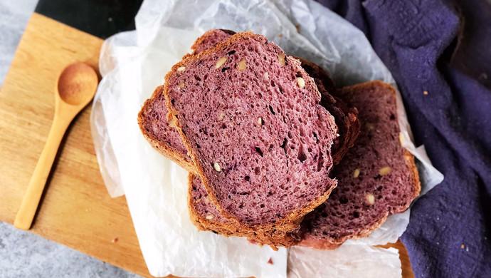减脂黑醋栗全麦面包(面包机版)