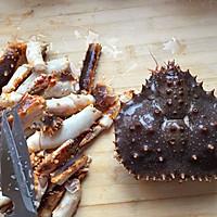 春节必备年夜菜--帝王蟹(含拆蟹方法)的做法图解6