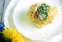 黑椒培根芝士西兰花焗饭#舌尖上的春宴#的做法