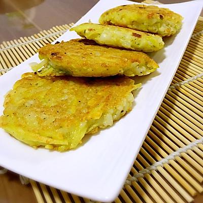 米饭土豆饼