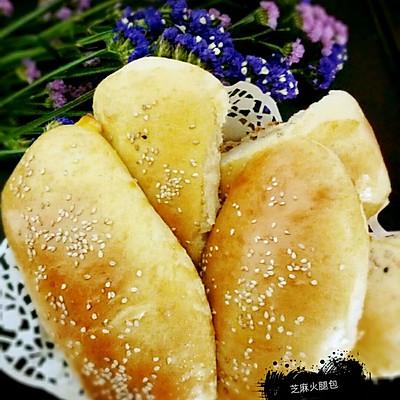 芝麻火腿面包