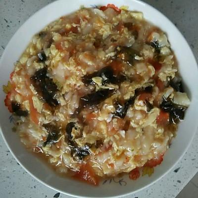 宝宝餐—西红柿鸡蛋面疙瘩汤