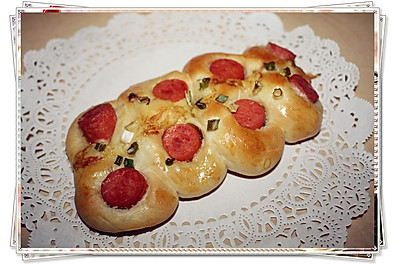 葱香火腿面包