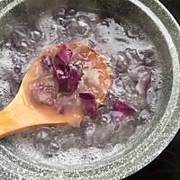 懒人减肥熬夜必备的紫薯银耳汤,美容养颜瘦身佳品的做法图解5