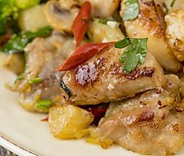 西班牙蒜香鸡丨咸鲜香甜的做法