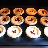 炼奶蔓越莓蛋挞——跟家人一起享用的下午茶时光的做法图解8