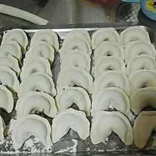 香菇木耳鸡蛋饺子