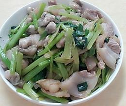 五花肉炒小生蚝的做法