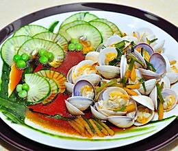 葱油蛤蜊的做法