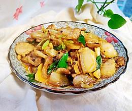 #换着花样吃早餐#川菜蒜苗五花肉的做法