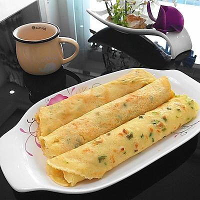 葱花鸡蛋早餐饼