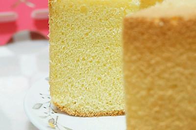 淡奶油戚风蛋糕