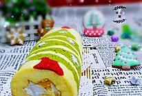 圣诞树蛋糕卷#松下烘焙盛宴#的做法