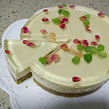 玫瑰冻芝士蛋糕