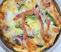 #奈特兰草饲营养美味#黄油芝士披萨的做法