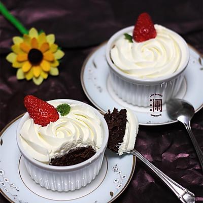 微波卡布奇诺蛋糕:给你一个下午茶的理由