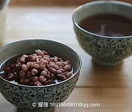 节气调理 | 祛湿的红豆薏米水 的做法