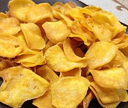 低脂健康:免油炸烤红薯片/烤箱版香脆地瓜干的做法
