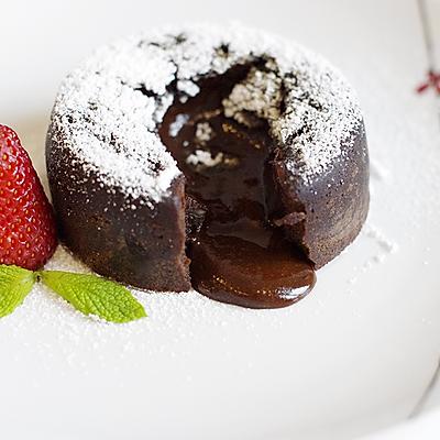 巧克力熔岩蛋糕/巧克力心太软