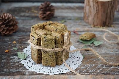 香葱海苔无糖全麦饼干,血糖不好的人有口福了,好吃又好做!
