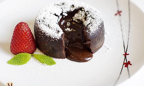 巧克力熔岩蛋糕/巧克力心太软 的做法