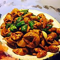 川味干煸肥肠的做法图解5