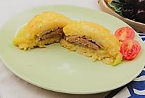 鹅肝米饭汉堡。健康低热量,源自北欧,纯净生鲜【小鹿优鲜】的做法