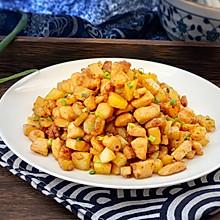 #母亲节,给妈妈做道菜#爆香土豆鸡丁