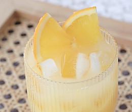 香橙养乐多气泡饮的做法