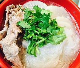 羊肉萝卜粉丝汤的做法